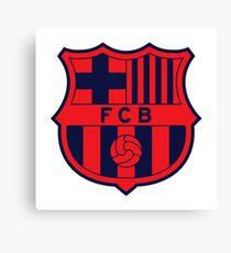 FC Barcelona Crest Canvas Print