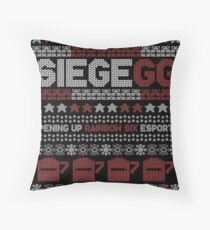 SiegeGG - Ugly (but beautiful) Christmas Sweater Floor Pillow
