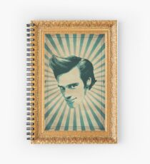 Carrey Spiral Notebook