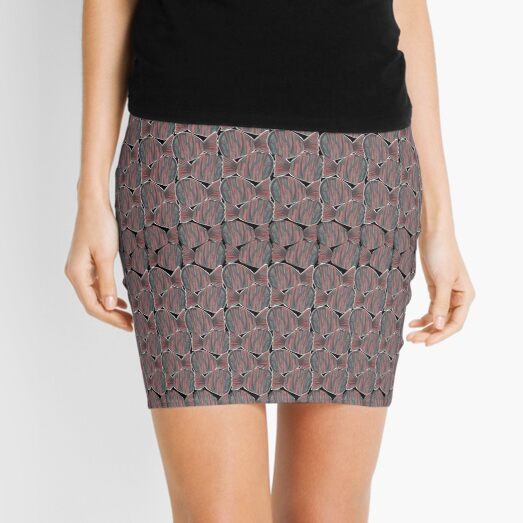 Funny Fishes Mini Skirt