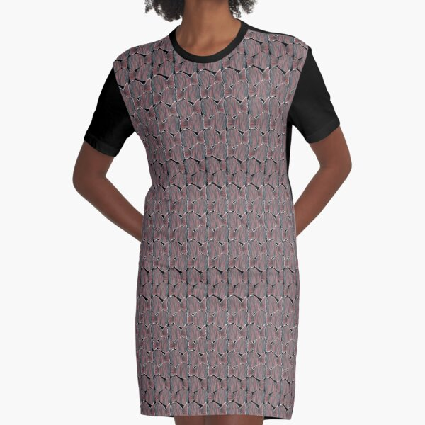 Funny Fishes Graphic T-Shirt Dress