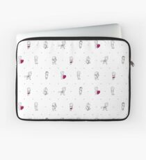 Teen Wolf Love Connection Laptop Sleeve