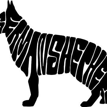 German Shepherd by Taz-Clothing