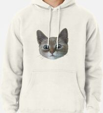 happy cat Pullover Hoodie