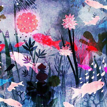 sea garden by dansedelune