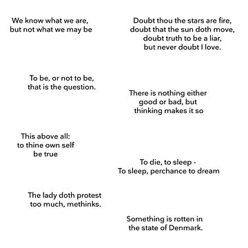 Hamlet Quotes by clairefromke