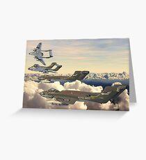 The Mighty Sea Vixen Greeting Card