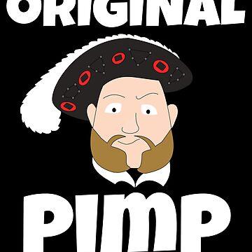 Henry VIII Original Pimp by MandWthings