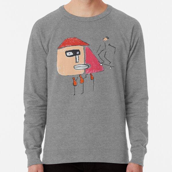 A gangster, a skater and three one-legged Lightweight Sweatshirt