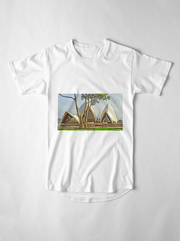 Alternate view of The tree in the yard next door Long T-Shirt