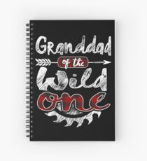 Granddad of the Wild One Shirt Lumberjack Woodworker Sawdust Buffalo Plaid measure once plaid pajamas cabinet maker contractor wood timber working tools Spiralblock