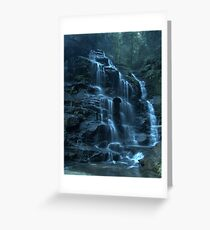 Empress Falls, Valley of the Waters, Blue Mountains Greeting Card