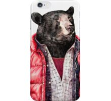 Black Bear iPhone Case/Skin