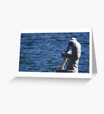 Boy with a thorn Greeting Card