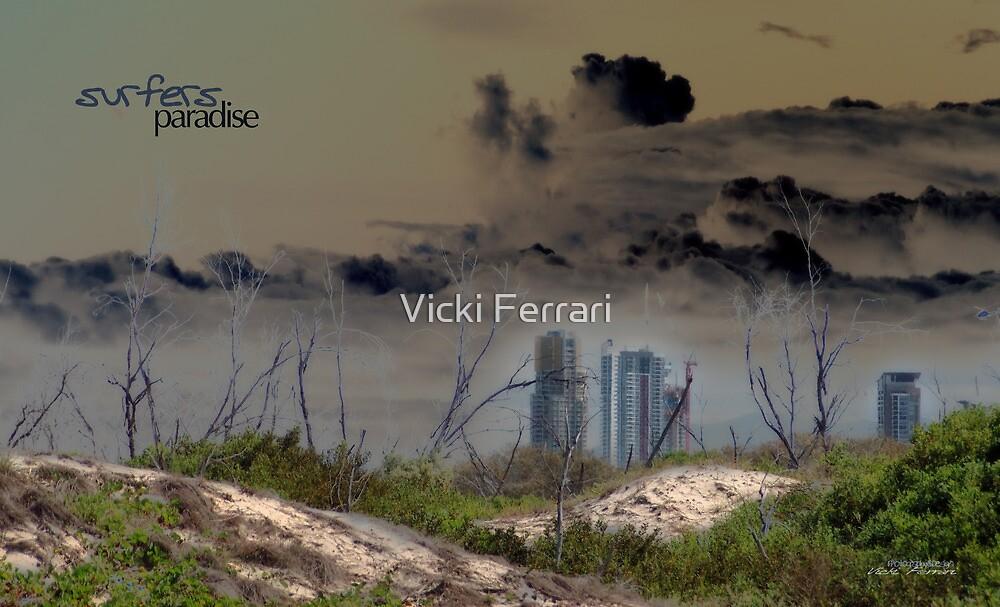 Surfers Paradise © Gold Coast 2050 by Vicki Ferrari