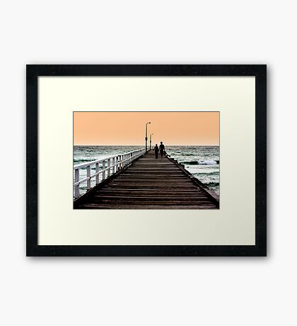 With you... Framed Print