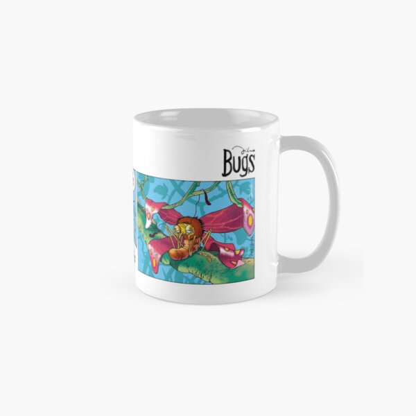 """Bugs"" by Tiho Classic Mug"