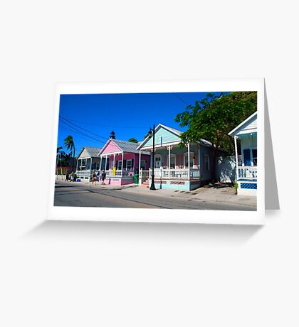 Key West Pastels Greeting Card