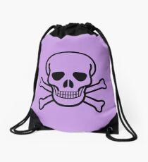Skulls 3 by Chillee Wilson Drawstring Bag