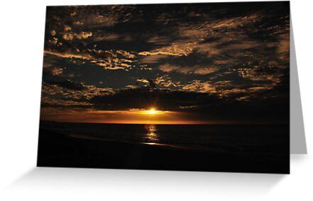 Hot Evening In Mandurah by Peter Rattigan