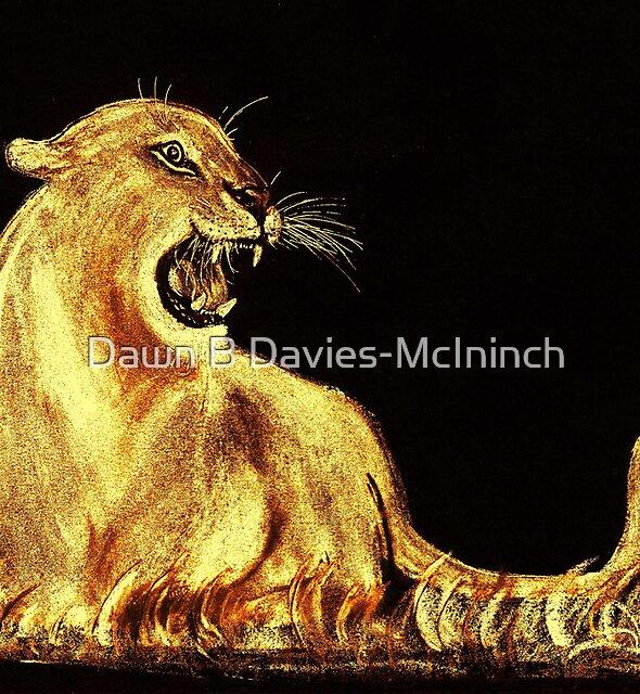 Golden Cat by Dawn B Davies-McIninch