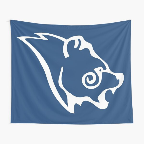 Skyrim Stormcloak Flag Logo Tapestry