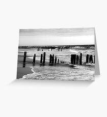 Jetty at Fort Tilden Greeting Card