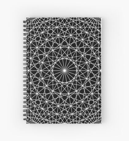 Dynamic Circle Chords II Spiral Notebook
