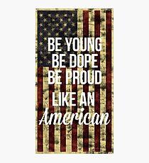 American Photographic Print
