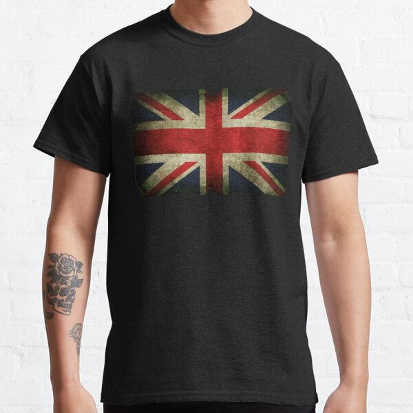 Grungy Union Jack Classic T-Shirt