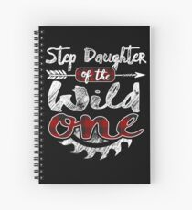 Step Daughter of the Wild One Shirt Lumberjack Woodworker Buffalo Plaid measure once plaid pajamas cabinet maker contractor wood timber working tools Spiralblock