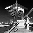 Fishing At Night by Emma Holmes