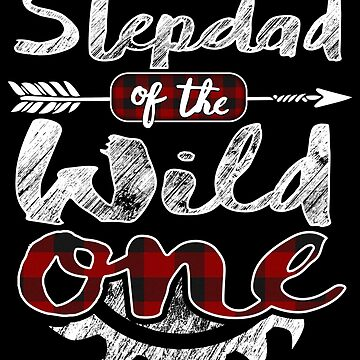 Stepdad of the Wild One Shirt Lumberjack Woodworker Sawdust Buffalo Plaid sawdust is mans glitter cutting wood timber working contractor plaid pajamas by bulletfast