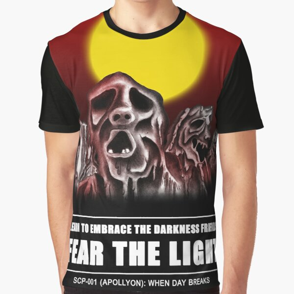 FEAR THE LIGHT (When Day Breaks SCP-001) Graphic T-Shirt