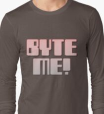 BYTE ME! by Chillee Wilson Long Sleeve T-Shirt