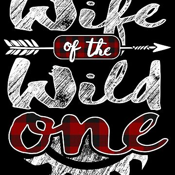 Wife of the Wild One Shirt Lumberjack Woodworker Sawdust Buffalo Plaid measure once plaid pajamas cabinet maker contractor wood timber working tools by bulletfast