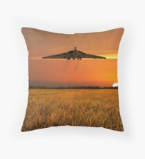 Vulcan Farewell Fly Past Throw Pillow