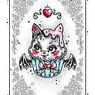 Bat Cupcake by Ella Mobbs
