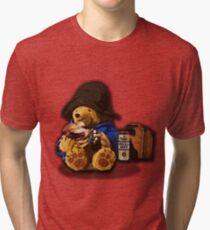 Pissington bear  Tri-blend T-Shirt