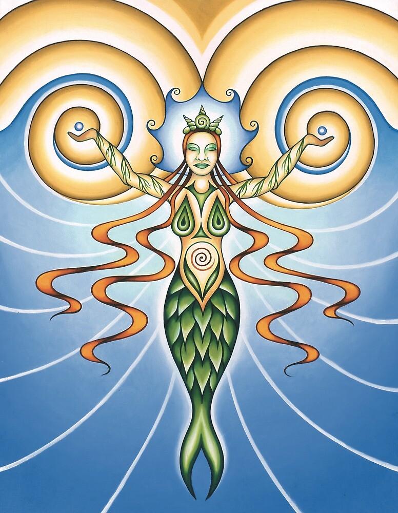 Goddess of Water by Sarah Jane Bingham