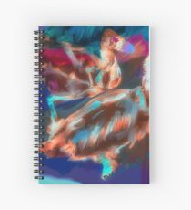 Abstract Duck Spiral Notebook