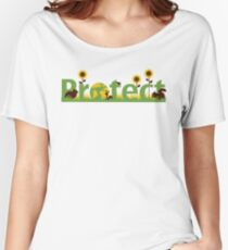 Protect our planet Women's Relaxed Fit T-Shirt