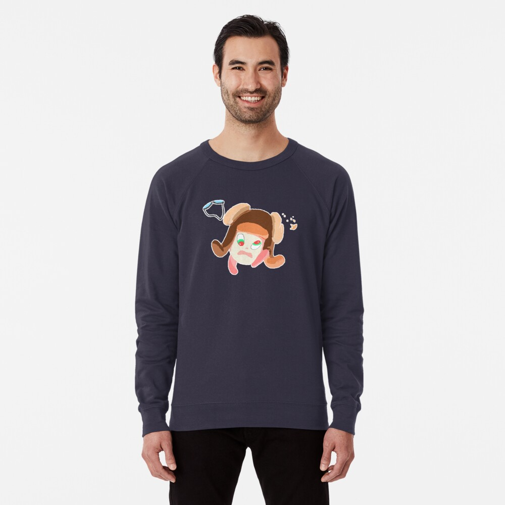 Void in the Sky - Enemy Sticker Lightweight Sweatshirt