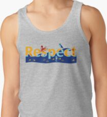 Respect our planet Tank Top