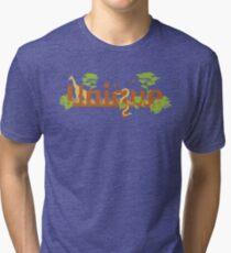 Unique planet safari design Tri-blend T-Shirt