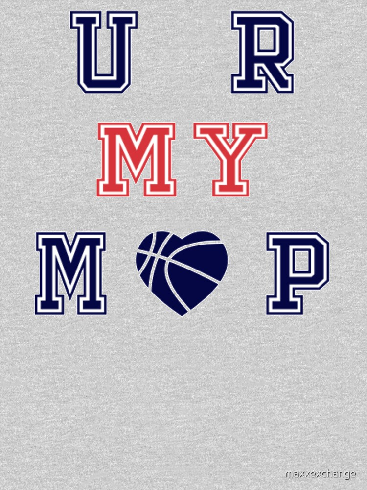 Basketball, MVP, Adult and Kids Custom T-Shirt by maxxexchange