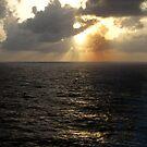 Sunset at Sea by Jennifer Chan