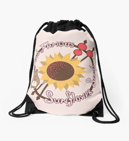 Fuu's Famous Sunflower Seeds Drawstring Bag