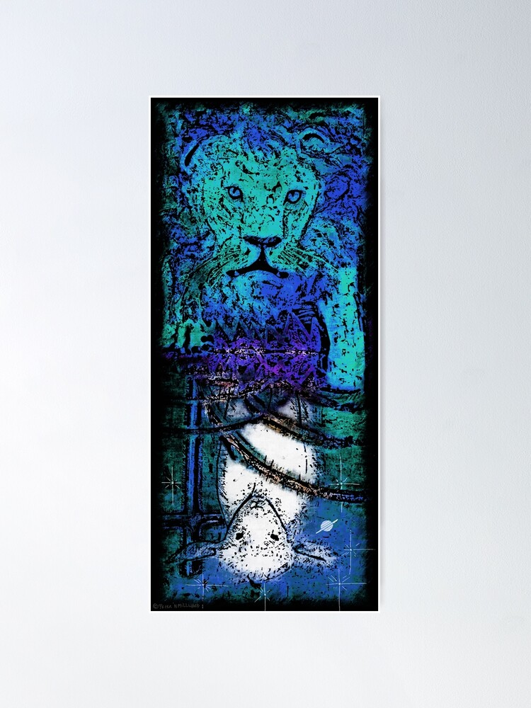 Alternate view of The Lion and the Lamb Poster