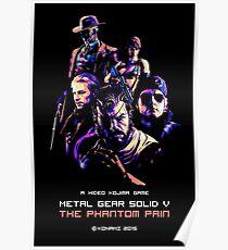 THE PHANTOM PAIN (ARCADE EDITION) Poster
